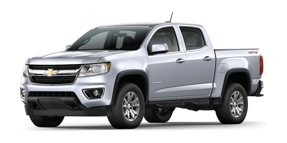 Camioneta 4x4 Colorado 2020 en color plata brillante
